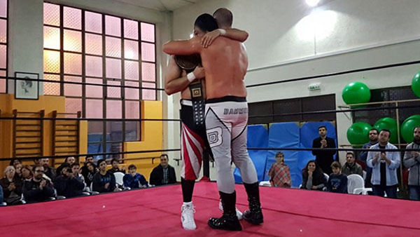 Wrestling: Bammer vs Salvador
