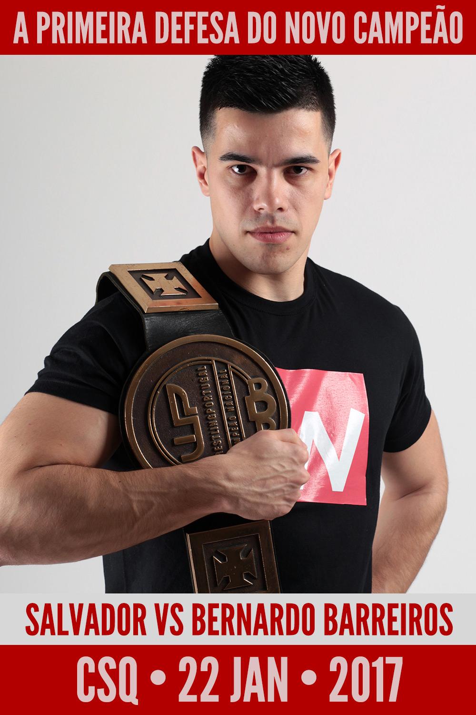 Wrestling: Luís Salvador vs Bernardo Barreiros